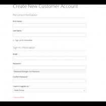 Magento 2 customer group register