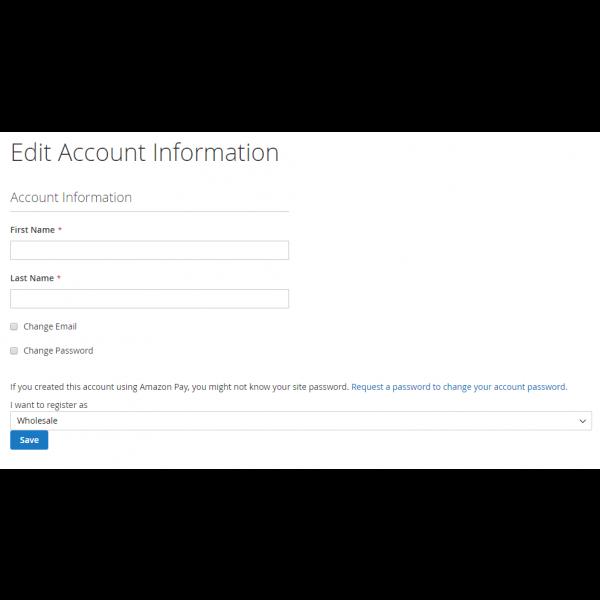 Magento 2 customer group edit